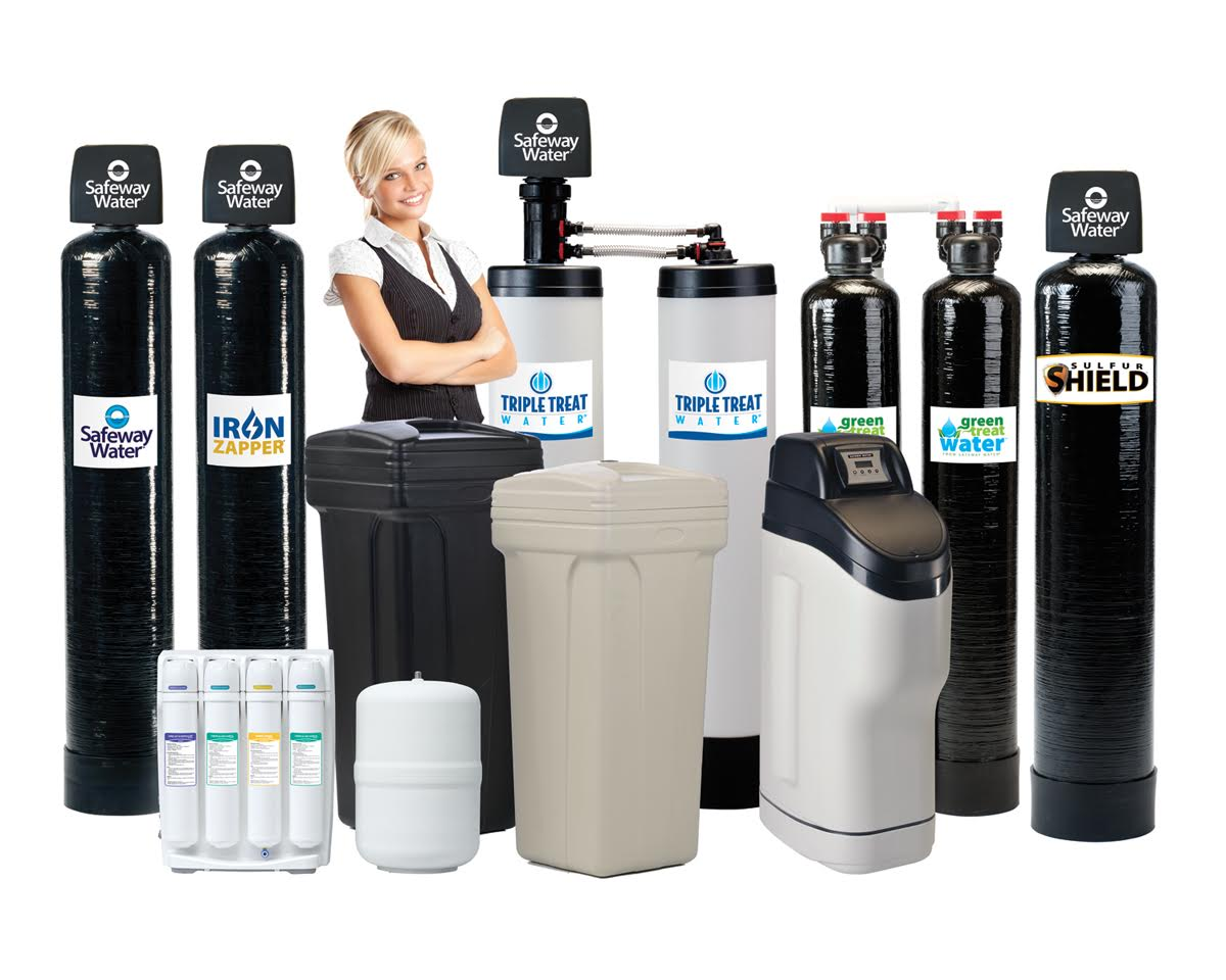 Water solfteners and filters in sevier, jefferson and hamblen counties